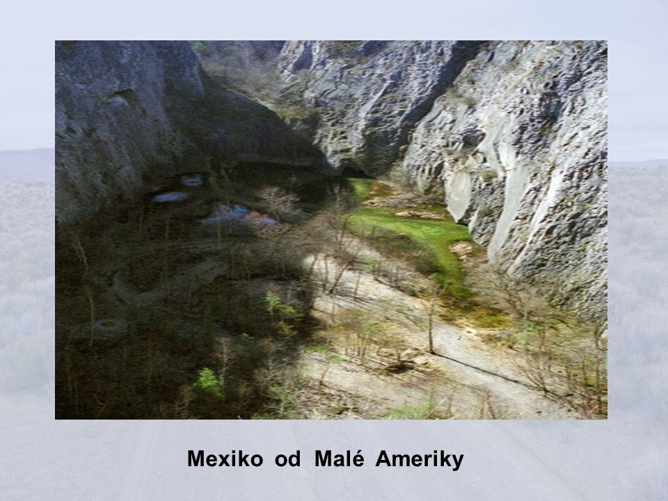 Mexiko z vrchu