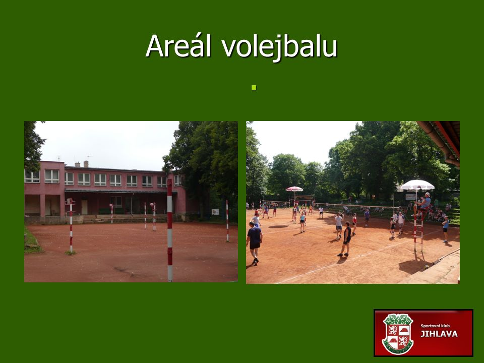 Areál volejbalu