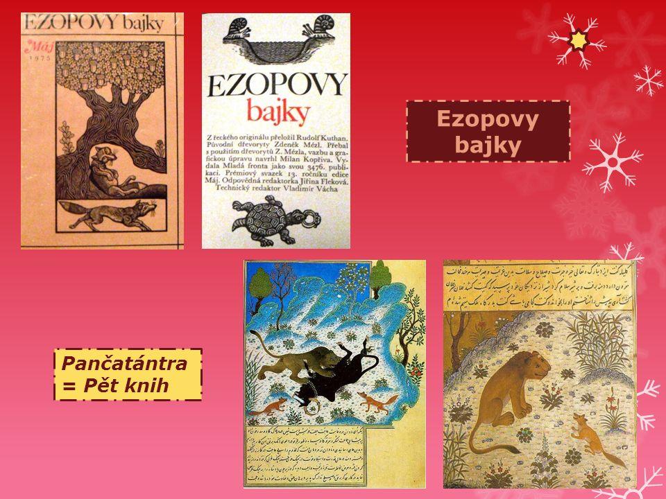 Ezopovy bajky Pančatántra = Pět knih