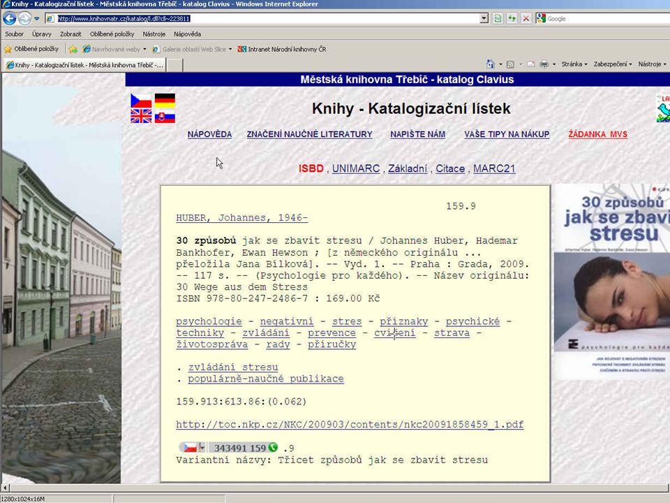 http://www.knihovnatr.cz/katalog/l.dll cll~