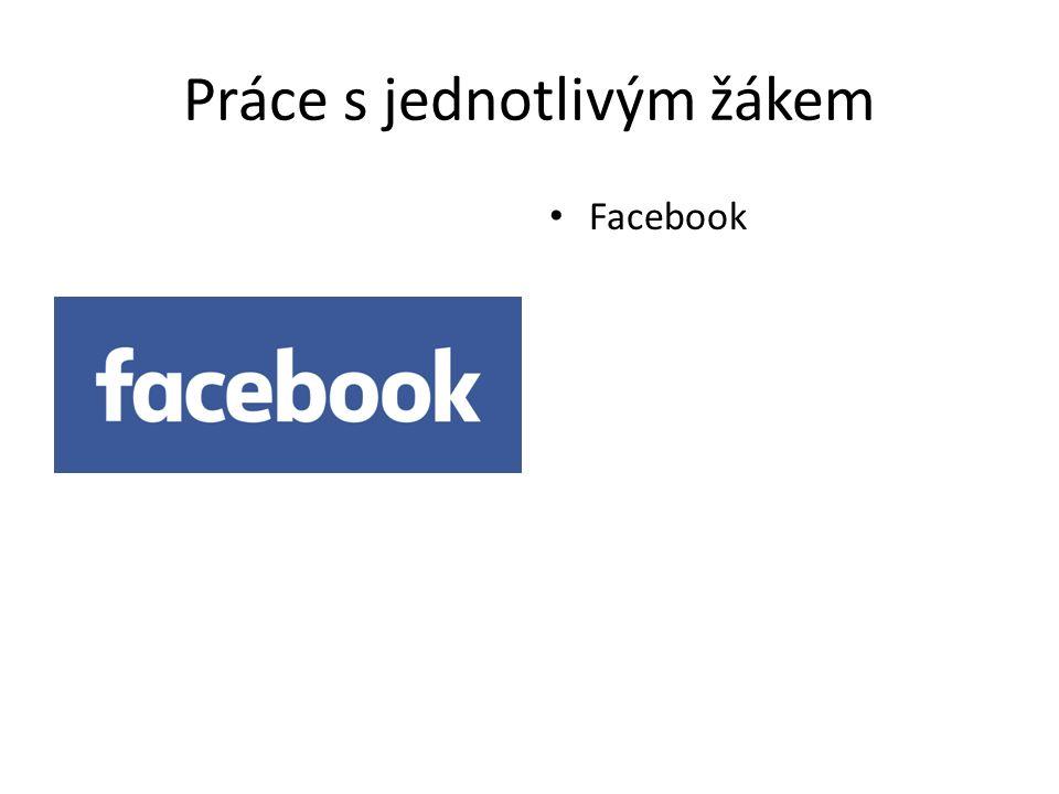 Práce s jednotlivým žákem Facebook