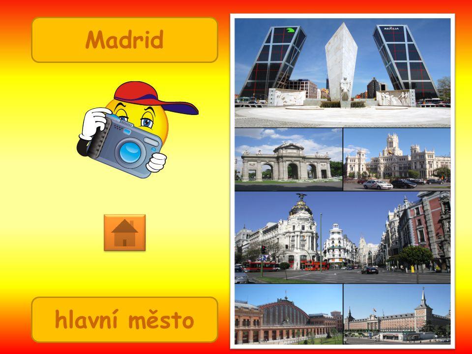 Madrid hlavní město