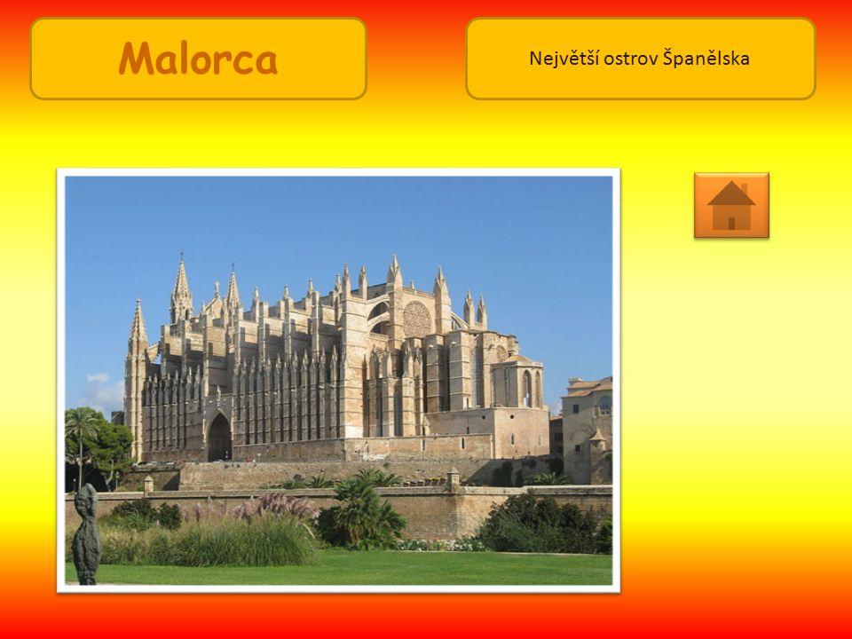 Malorca Největší ostrov Španělska