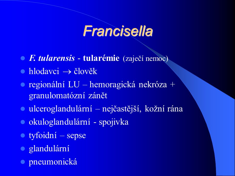 Francisella F.