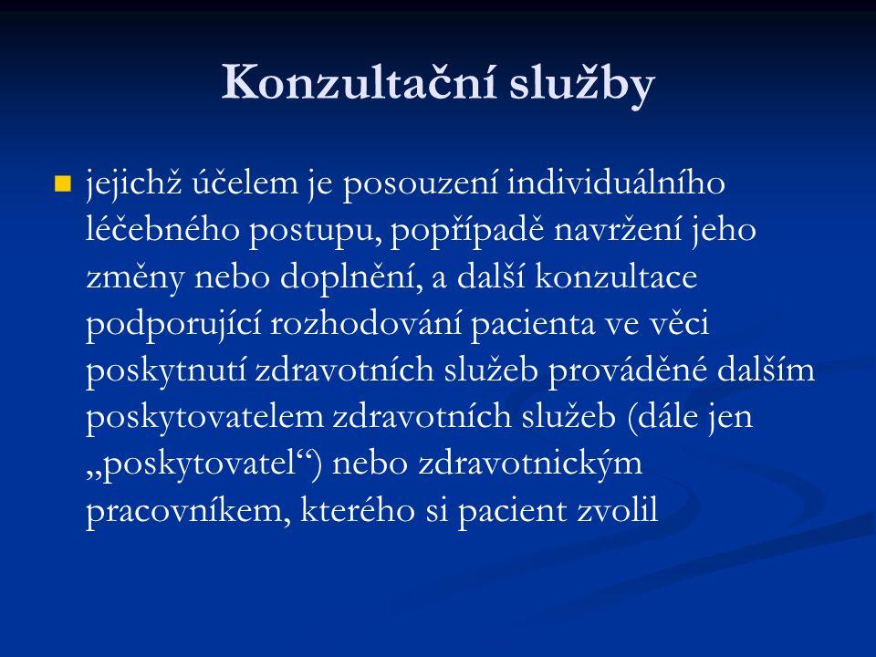 Zdravotnická dopravní služba 1.