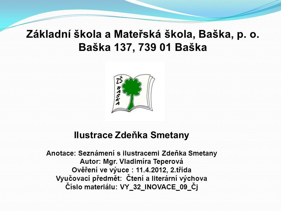 Základní škola a Mateřská škola, Baška, p.o.
