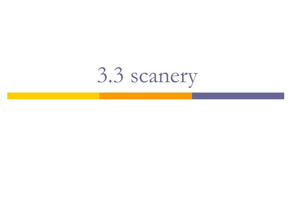 3.3 scanery