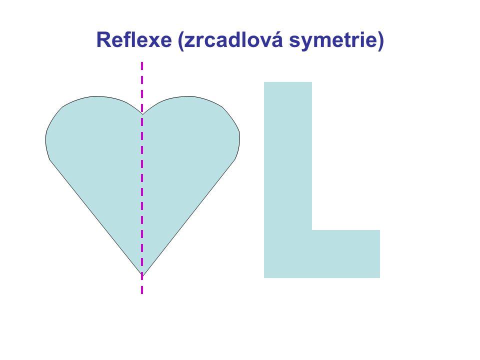Reflexe (zrcadlová symetrie)