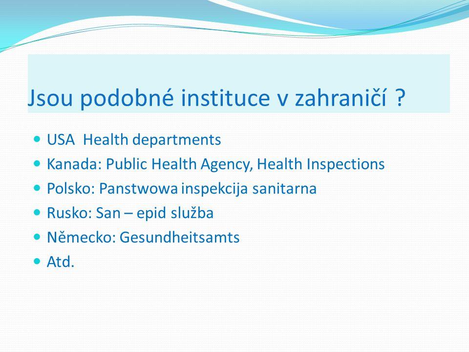 Dislokovaná pracoviště SZÚ pro podporu zdraví