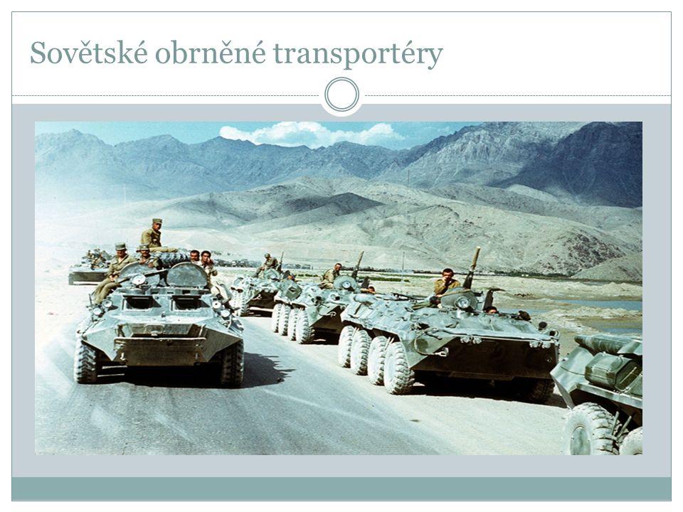 Sovětské obrněné transportéry