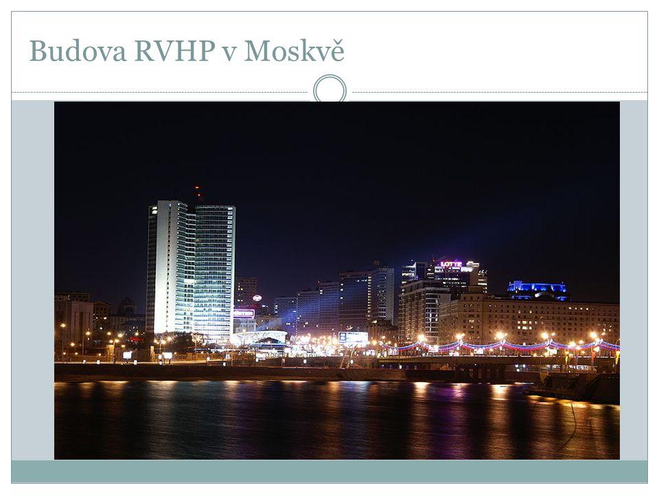 Budova RVHP v Moskvě