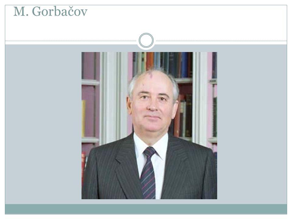 M. Gorbačov