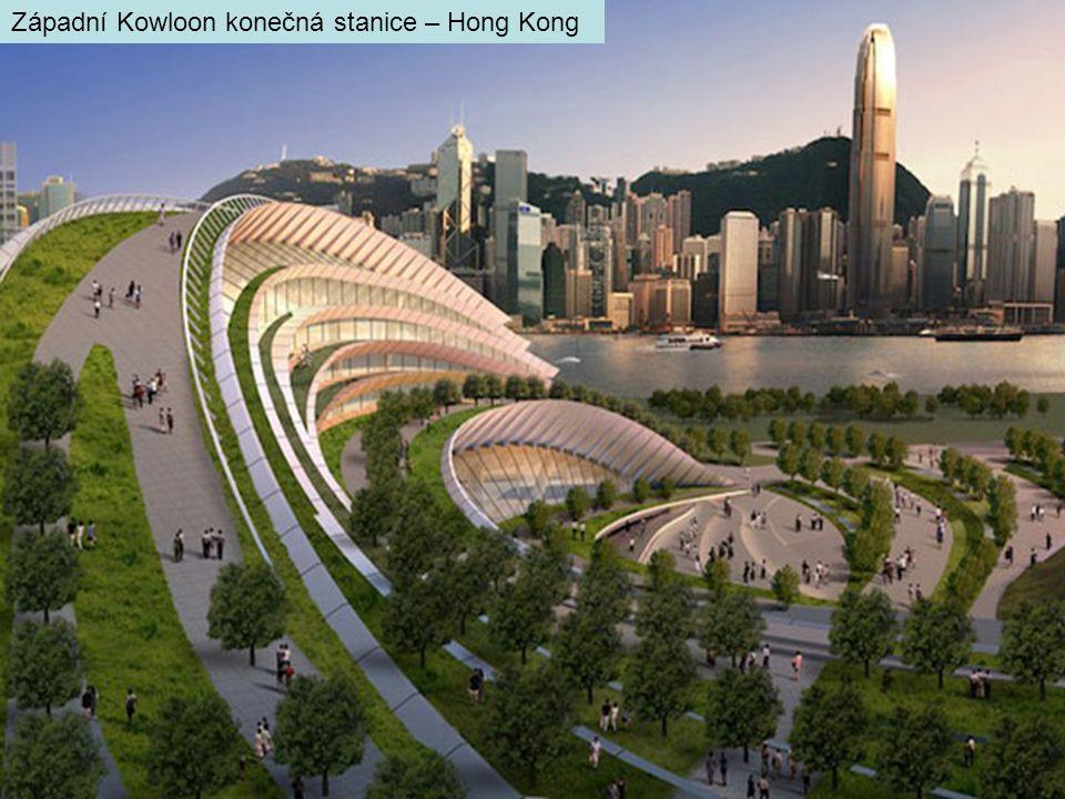 Západní Kowloon konečná stanice – Hong Kong