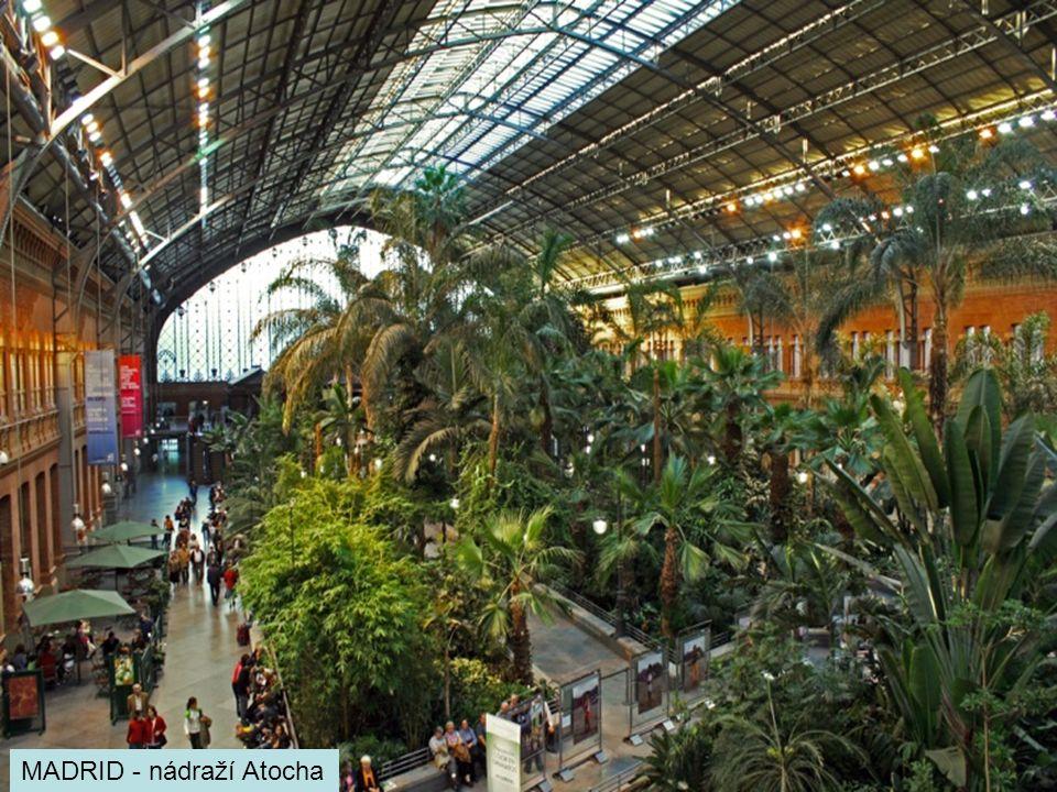 MADRID - nádraží Atocha