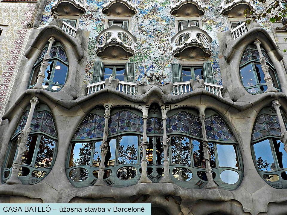 CASA BATLLÓ BARCELONA CASA BATLLÓ – úžasná stavba v Barceloně
