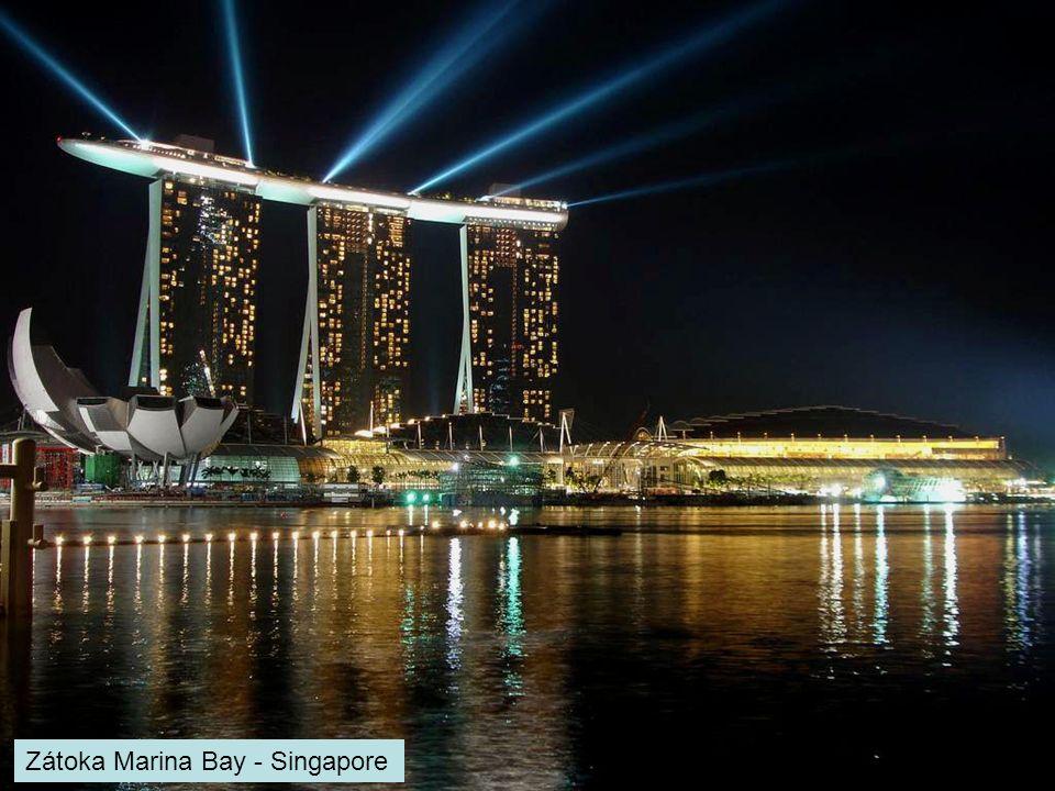 Zátoka Marina Bay - Singapore