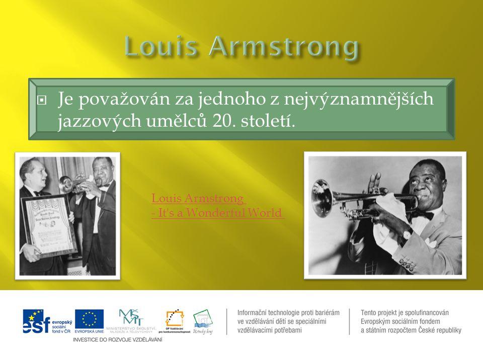  Je považován za jednoho z nejvýznamnějších jazzových umělců 20.