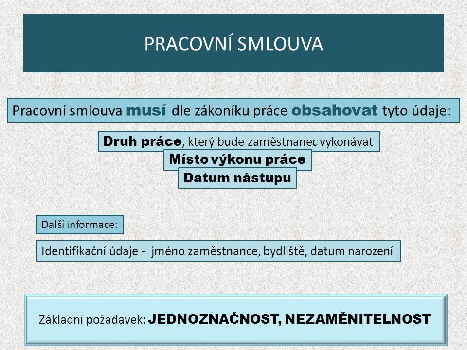 OPAKOVÁNÍ Zákon č.