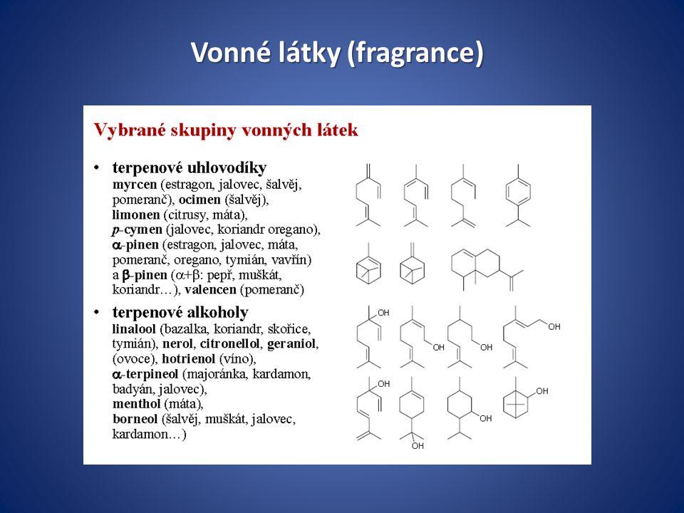 Vonné látky (fragrance)