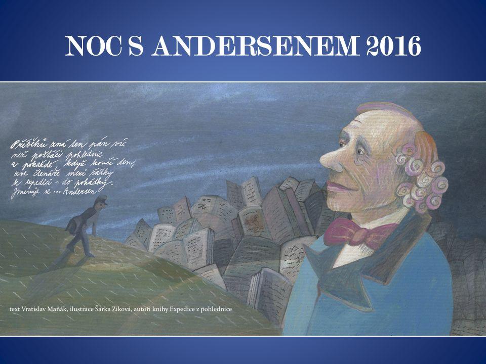 Noc s Andersenem začíná … poslech pohádky