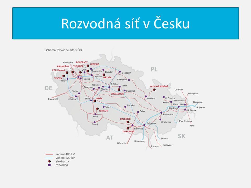 Rozvodná síť v Česku