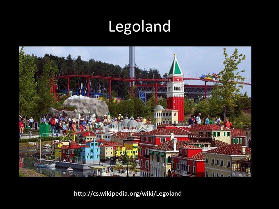Legoland http://cs.wikipedia.org/wiki/Legoland