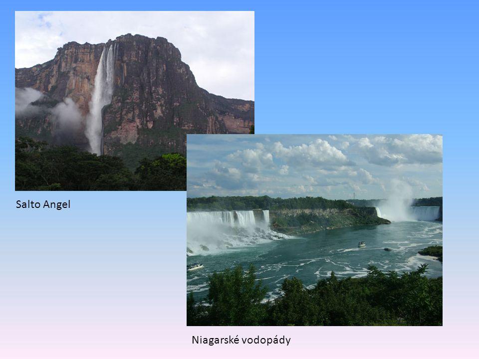 Salto Angel Niagarské vodopády