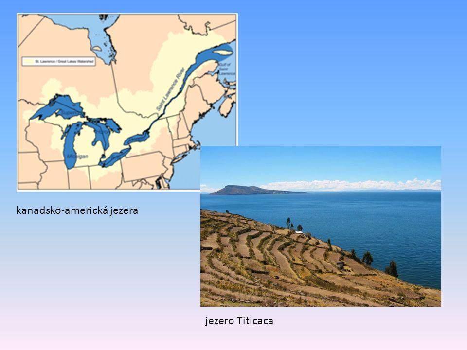 kanadsko-americká jezera jezero Titicaca