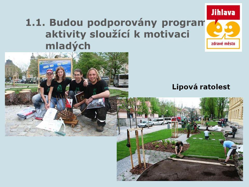 2.1. Budou podporovány programy a aktivity sloužící k motivaci seniorů Domov seniorů Lesnov