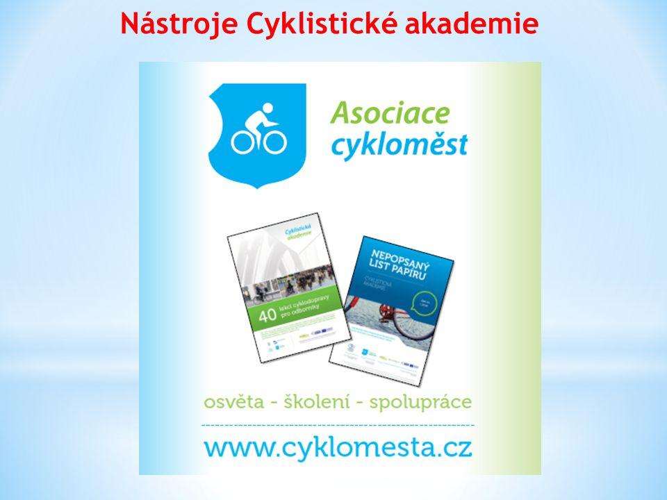 Nástroje Cyklistické akademie