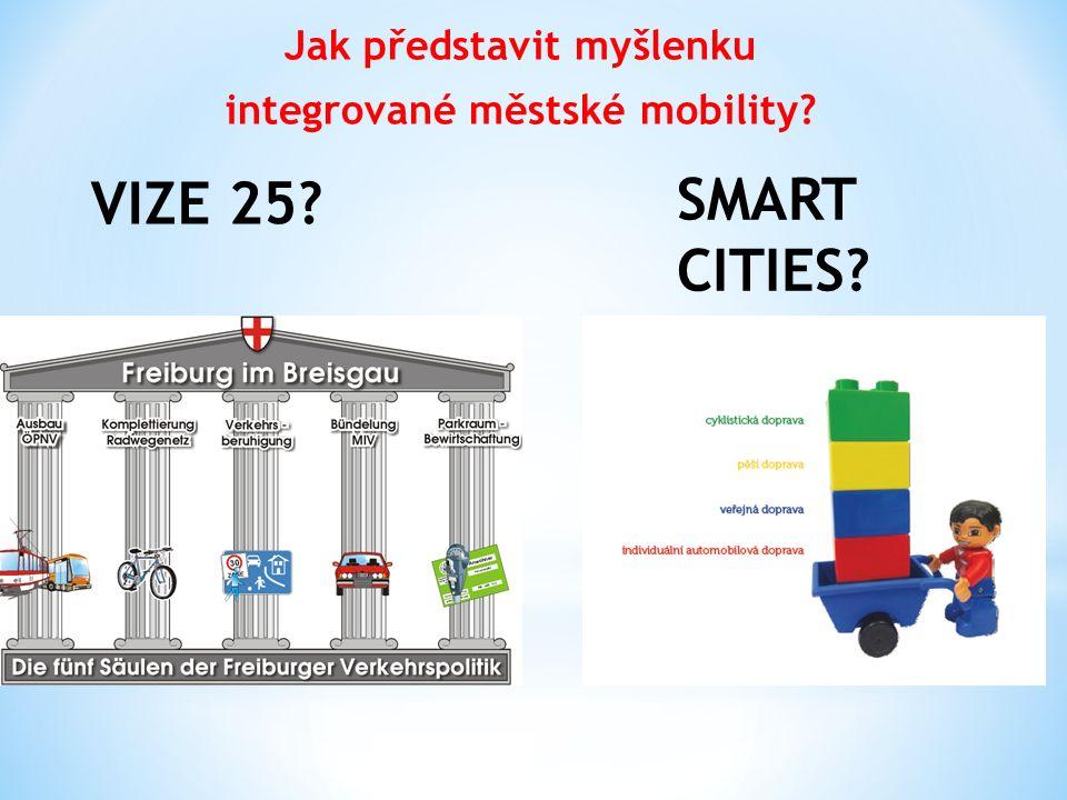 Jak představit myšlenku integrované městské mobility? VIZE 25? SMART CITIES?