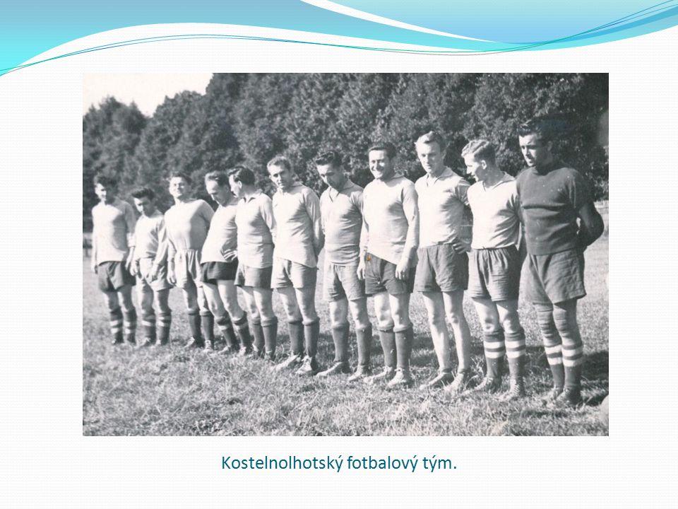 Kostelnolhotský fotbalový tým.