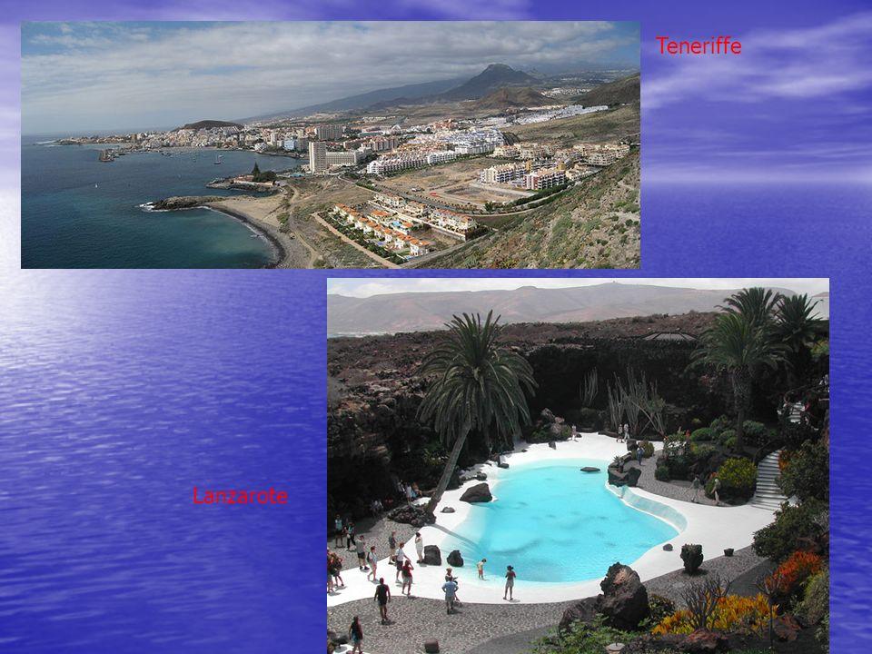 Lanzarote Teneriffe