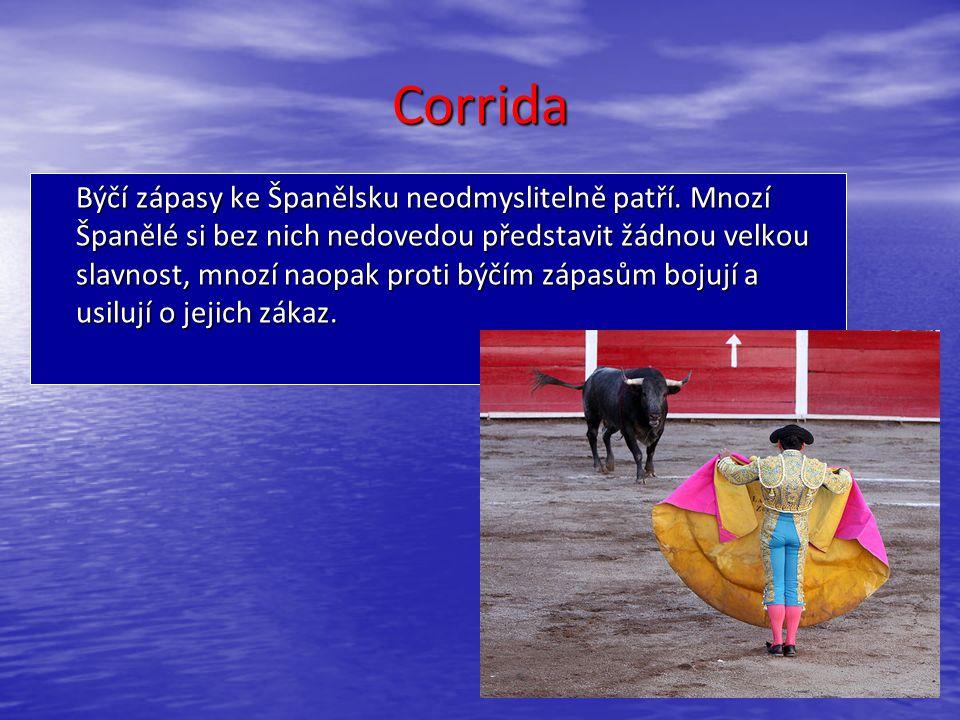 Corrida Býčí zápasy ke Španělsku neodmyslitelně patří.