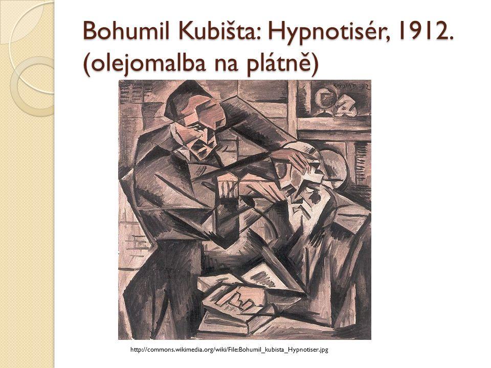 Bohumil Kubišta: Hypnotisér, 1912.