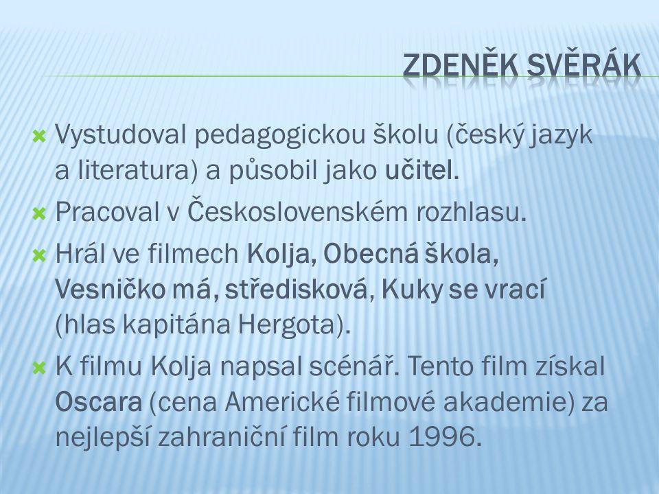  Vystudoval pedagogickou školu (český jazyk a literatura) a působil jako učitel.