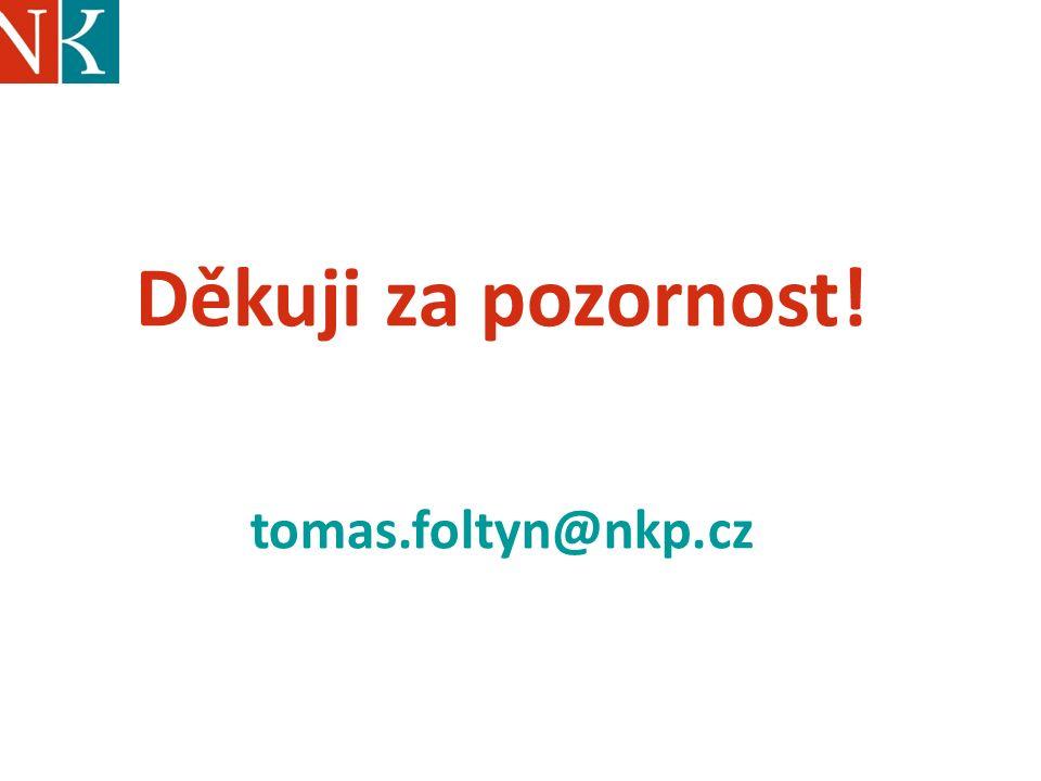 Děkuji za pozornost! tomas.foltyn@nkp.cz