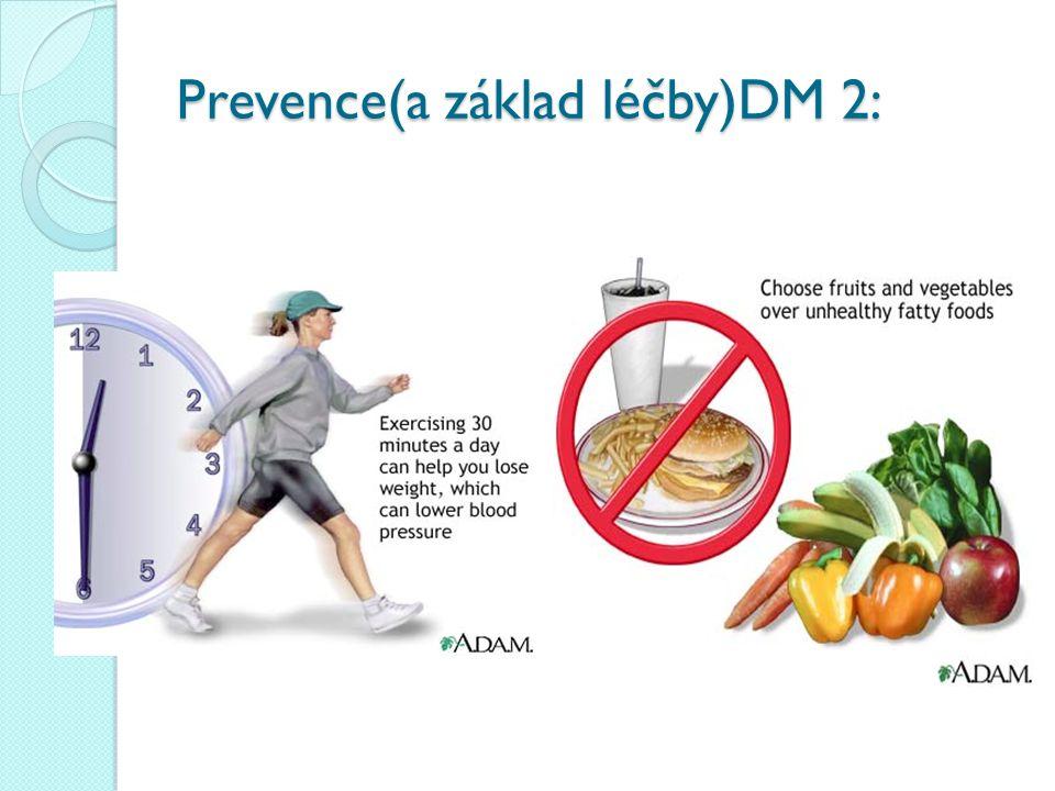 Prevence(a základ léčby)DM 2: