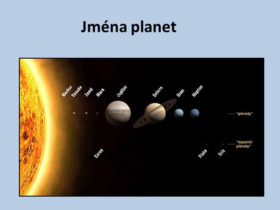Jména planet