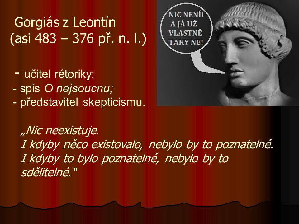 Gorgiás z Leontín (asi 483 – 376 př. n.