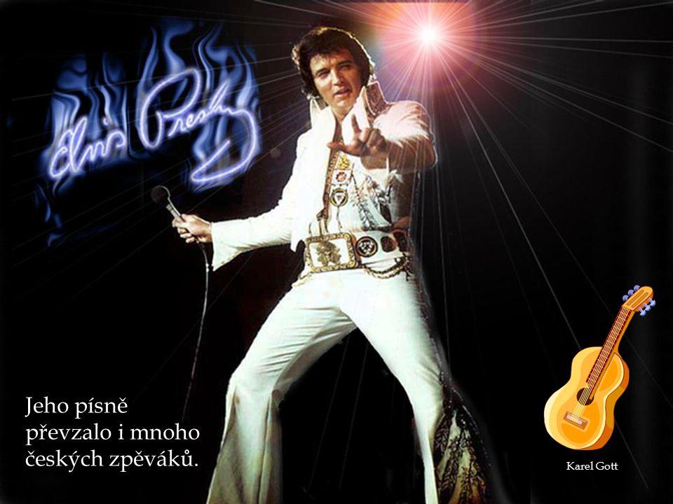 Jeho písně převzalo i mnoho českých zpěváků. Karel Gott