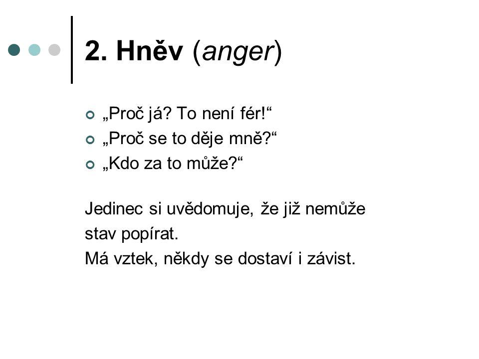 """2. Hněv (anger) """"Proč já."""