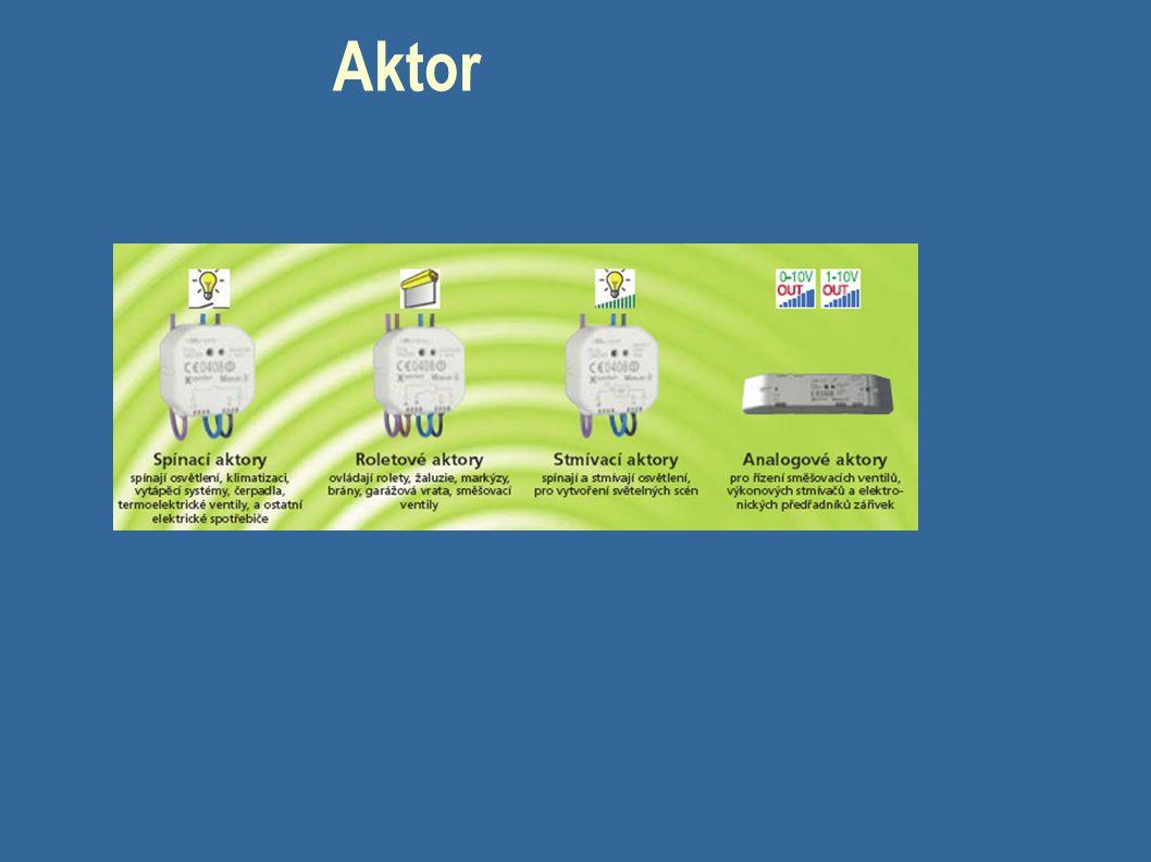 Systémové přístroje Jsou základním předpokladem pro komunikaci s účastníky připojenými k instalační sběrnici (přebírají nadřazené funkce)