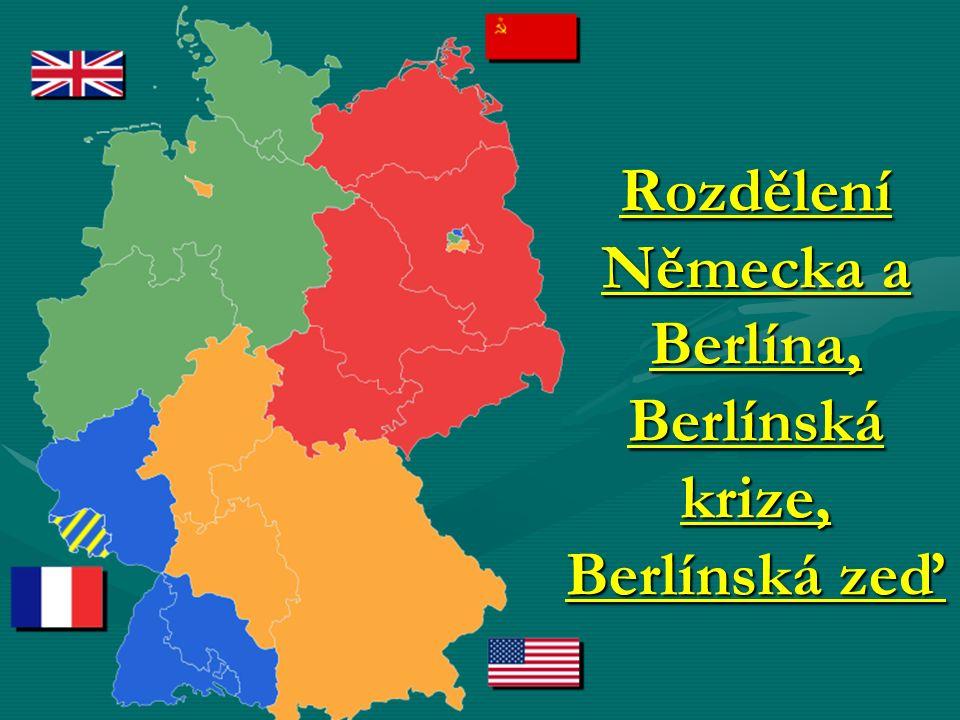 Rozdělení Německa a Berlína, Berlínská krize, Berlínská zeď