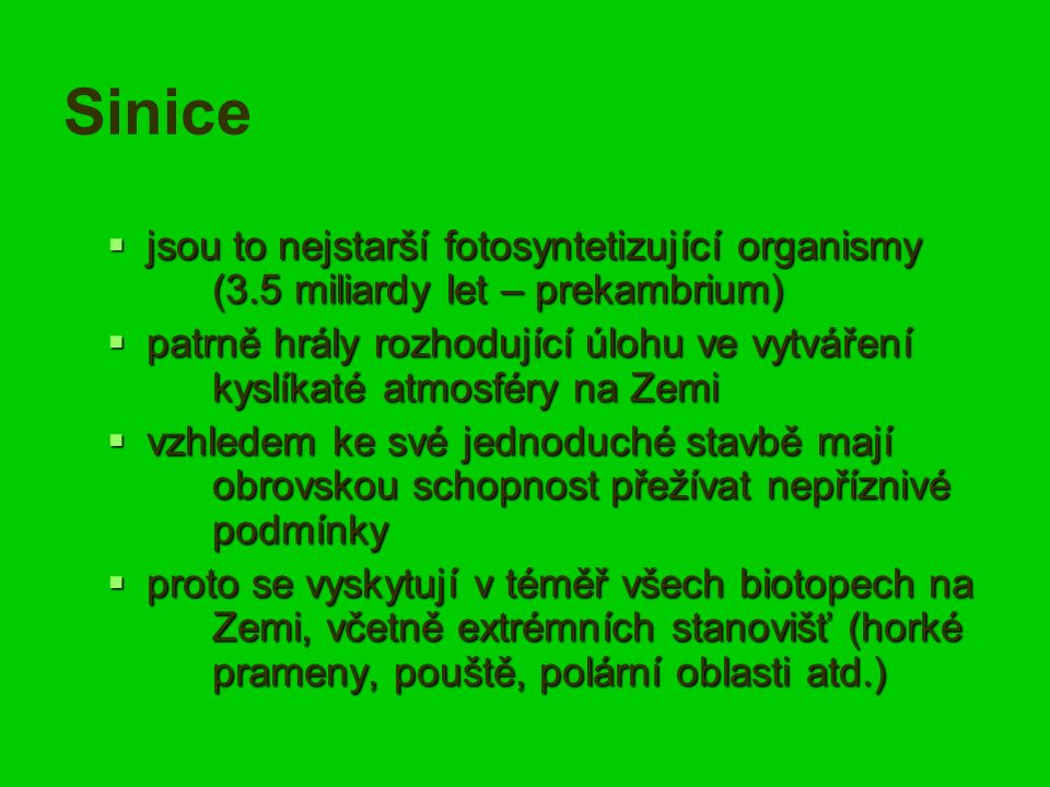 Peptidické hepatotoxiny sinic   Producenti: Microcystis, Anabaena, Planktothrix, Nostoc, Anabaenopsis......