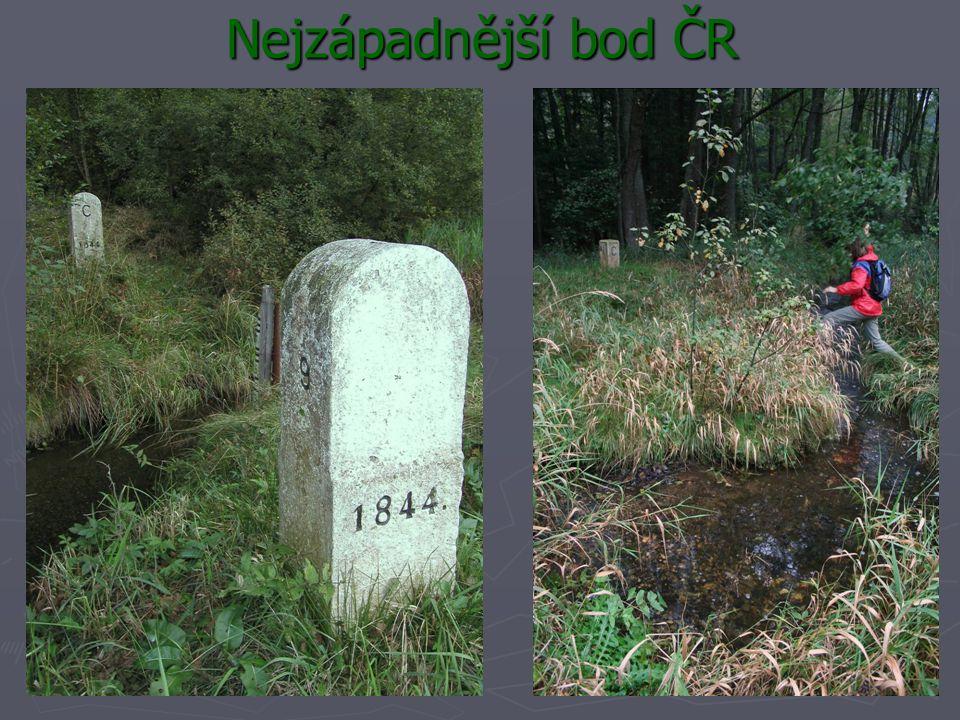 Nejzápadnější bod ČR