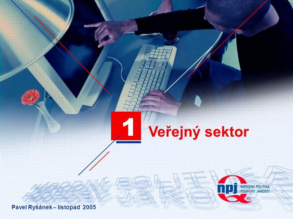 Veřejný sektor 1 Pavel Ryšánek – listopad 2005