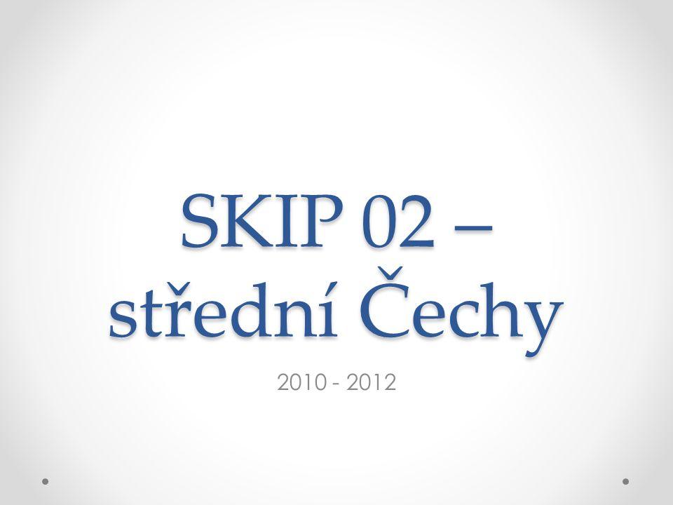 SKIP 02 – střední Čechy 2010 - 2012