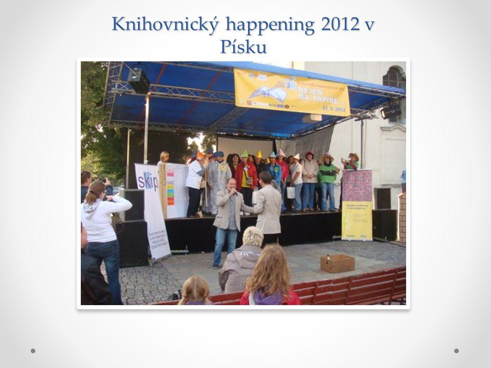 Knihovnický happening 2012 v Písku