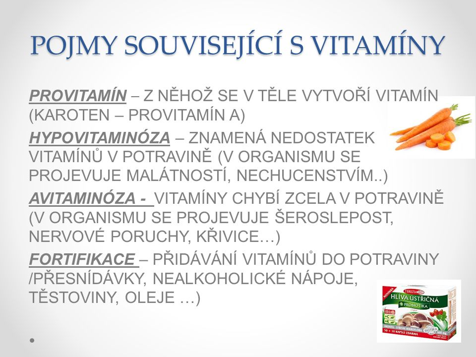 Minerální látky  jsou to soli různých prvků nejdůležitější :  Ca - vápník - mléko,  P – fosfor–obiloviny, luštěniny, ovoce, zelenina  K – draslík - obiloviny, ovoce, zelenina  Fe – železo – ovoce(jahody),zelenina(špenát)  I - jód - rybí maso, přidává se do soli  F - fluor - rybí maso